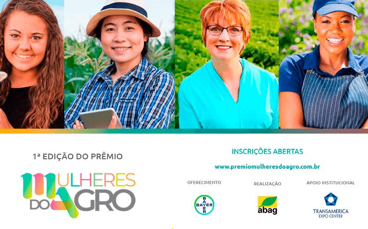 Prêmio Mulheres do Agro será entregue, com exclusividade, no 3° Congresso Nacional das Mulheres do Agronegócio
