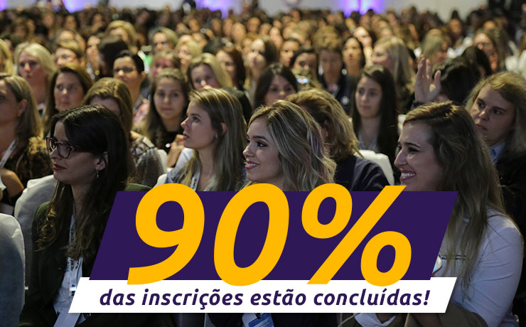 Reta final: 90% das inscrições para o 3° Congresso Nacional das Mulheres do Agronegócio já foram preenchidas