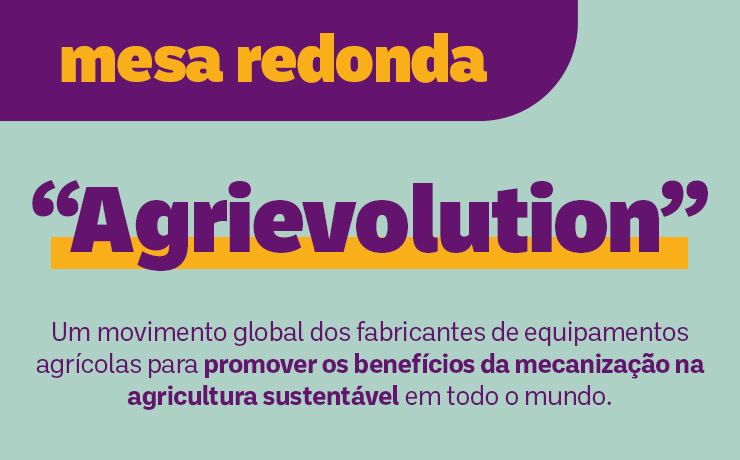 Agrievolution: movimento global será debatido em mesa-redonda do 5º CNMA